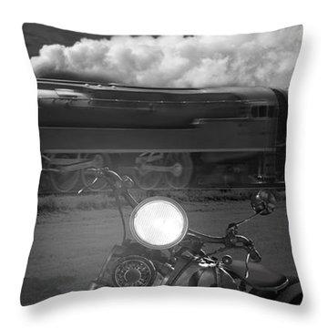 The Wait - Panoramic Throw Pillow