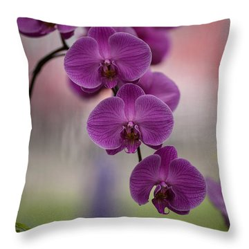 The Waiting Throw Pillow by Mike Reid