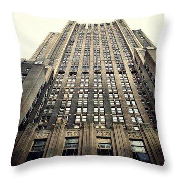 The Waldorf Throw Pillow