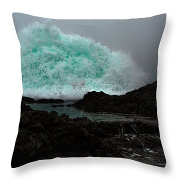 The Wall Series Frame 3 Full Res Throw Pillow