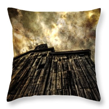 The Warehouse Throw Pillow