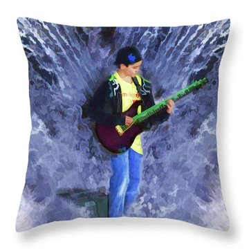 The Water Gig Throw Pillow