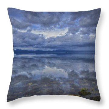 The Waters Beneath Throw Pillow