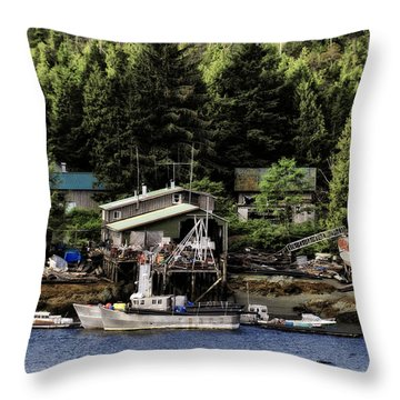 Throw Pillow featuring the photograph The Waters Edge 3 by Davina Washington