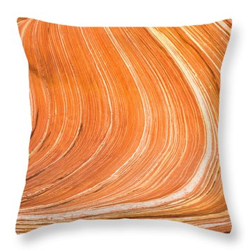 The Wave II Throw Pillow