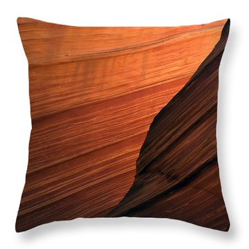 'the Wave' North Coyote Buttes 47 Throw Pillow
