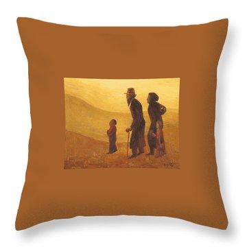 The Way - Aliyah Throw Pillow by Israel Tsvaygenbaum