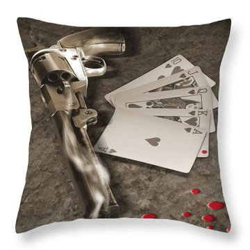 The Way Of The Gun Part 1 Throw Pillow by Mike McGlothlen