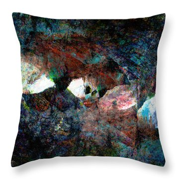 The Way Out Throw Pillow by Stephanie Grant