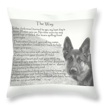 German Shepherd Throw Pillows