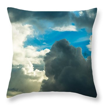 The Weather Is Changing Throw Pillow by Alexander Senin