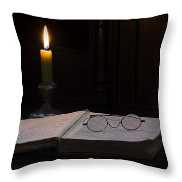 The Wee Hours... Throw Pillow