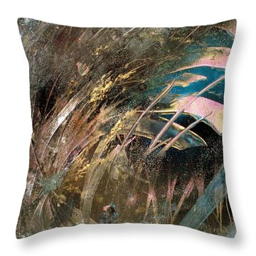 The Weeds Throw Pillow