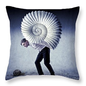 The Weight Of Life Throw Pillow