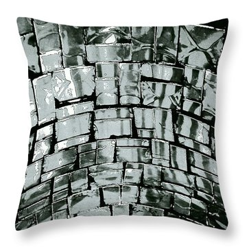 The Well Throw Pillow by Jacqueline McReynolds