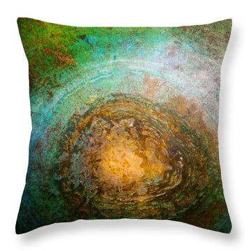 The Well Of Longing Throw Pillow