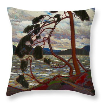 The West Wind Throw Pillow