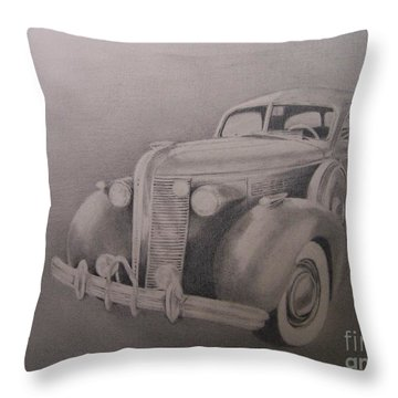 Throw Pillow featuring the drawing The Wheels Of Time by Mary Lynne Powers