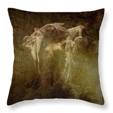 The Whisper Throw Pillow