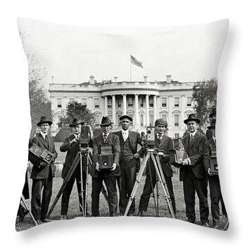 Whitehouse Throw Pillows