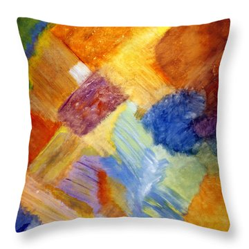 The White Square Throw Pillow