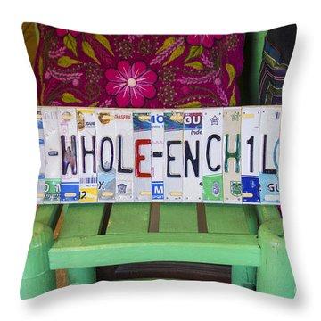 The Whole Enchilada Throw Pillow