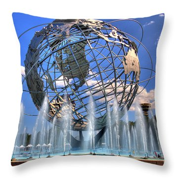The Whole World In My Hands Throw Pillow