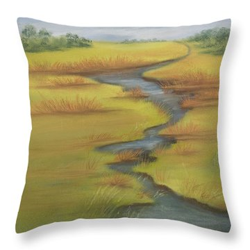 The Wicken Fen Throw Pillow