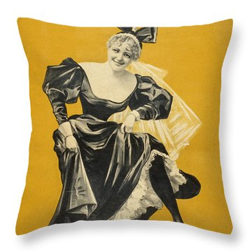 The Widow Throw Pillow by Aged Pixel