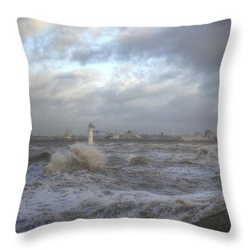 The Wild Mersey 2 Throw Pillow