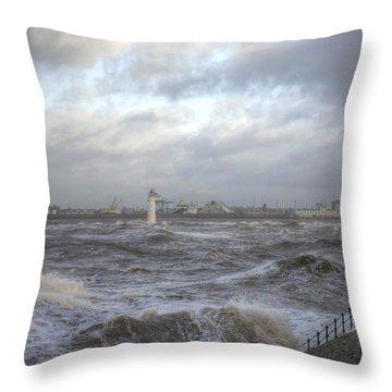The Wild Mersey Throw Pillow