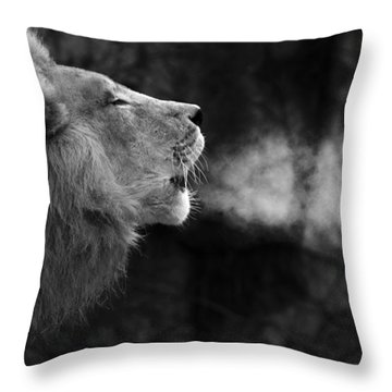 The Will Of The King Throw Pillow