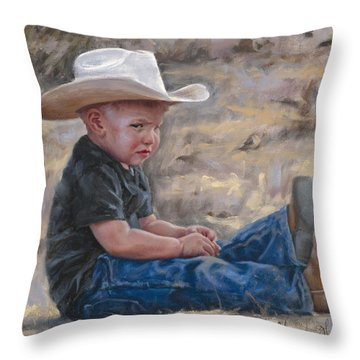 The Will To Win Throw Pillow