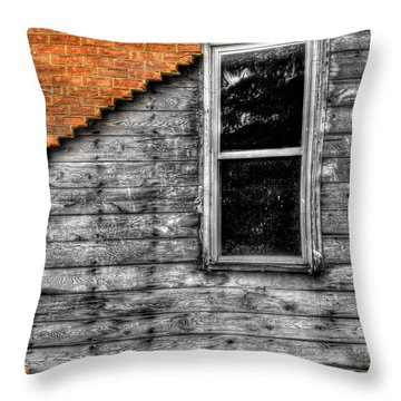 The Window Of Despair Throw Pillow