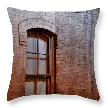 The Window Of Opportunity Throw Pillow