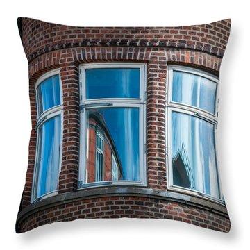 The Windows Throw Pillow