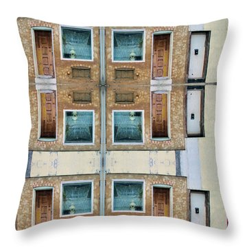 The Windows Of The Soul  Throw Pillow