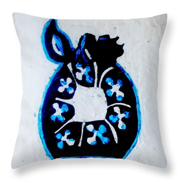 The Wise Virgin Algorithm Throw Pillow by Gloria Ssali
