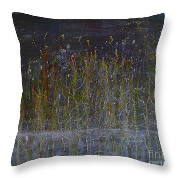 The Witch Forest Throw Pillow
