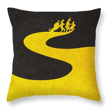 The Wizard Of Oz Throw Pillow