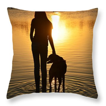 The Wonder Of Everyday Throw Pillow by Laura Fasulo