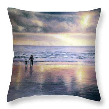 The Wonder Of Light Throw Pillow