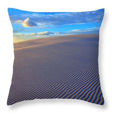 The Wonder Of New Mexico Throw Pillow by Bob Christopher