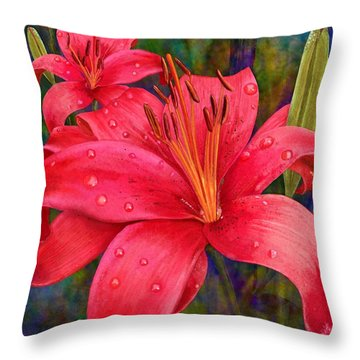 The Wonders Of June Throw Pillow