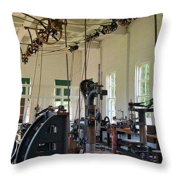 The Work Shop Throw Pillow by Patrick Shupert