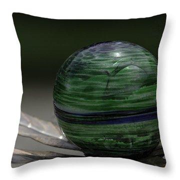 The World In Your Yard Throw Pillow by LeeAnn McLaneGoetz McLaneGoetzStudioLLCcom