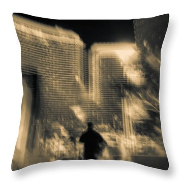 Throw Pillow featuring the photograph The World Is My Oyster by Alex Lapidus