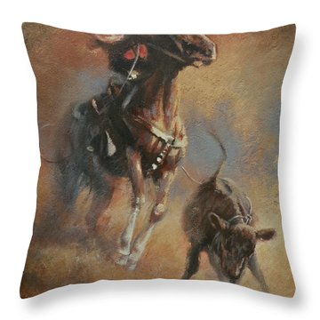 The Wreck Throw Pillow by Mia DeLode