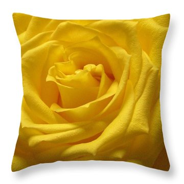The Yellow Rose Of Texas Throw Pillow