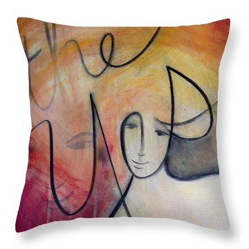 The Yes Throw Pillow